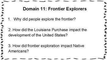 Essential Questions CKLA Grade 1, Domains 1-11 BUNDLE
