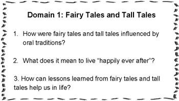 Essential Questions CKLA Grade 2, Domain 1
