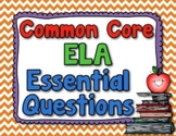 Essential Questions - ELA (Common Core, Grade 5)