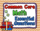Essential Questions - Math (Grade 5, Common Core) -Rainbow Colors
