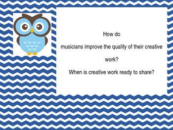 Essential Questions-Owl Theme