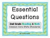Essential Questions Posters Bundle Pack - 2nd Grade Readin