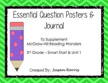 McGraw-Hill Essential Questions Posters ~ Unit 1