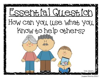 McGraw-Hill Essential Questions Posters ~ Unit 4