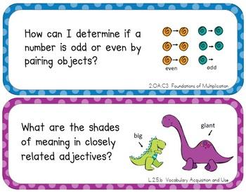 Essential Questions (Second Grade - Common Core)