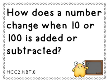 Essential Questions Second Grade Common Core Math