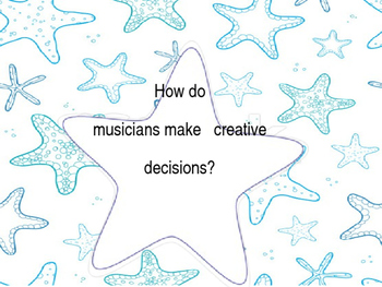 Essential Questions-Starfish Theme