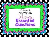 Essential Questions Third Grade McGraw-Hill MyMath