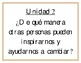 Essential Questions Units 1-10 (Spanish) Grade 6 - Benchmark Adelante