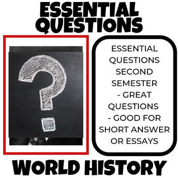 the questions for world history World history topic questions subscribe to the 'world history' topic to help and get support from people like you.