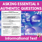 Informational Text Questioning Activity