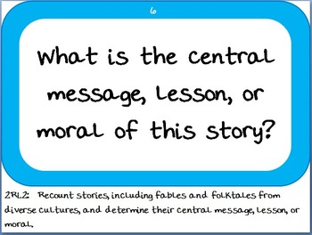 Essential Questions and Word Wall Pack - 2nd Grade Georgia Common Core