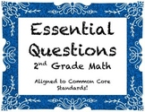 Essential Questions for Common Core Math: 2nd Grade