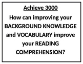 Essential Questions for Comprehension