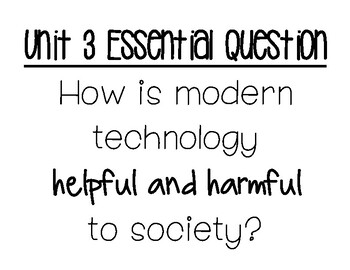 Essential Questions for My Perspectives Units