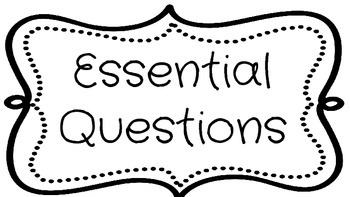 Essential Questions for the Kindergarten Classroom