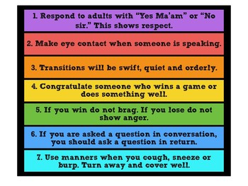 Essential Rules for Every Classroom