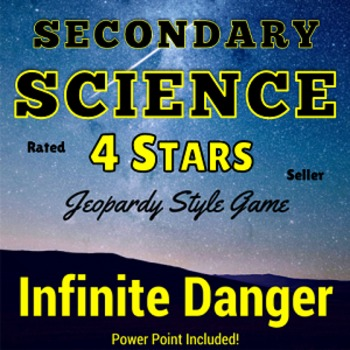 Essential Science Terms for Test-Taking Jeopardy Style Gam