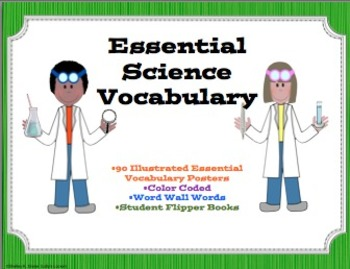 Science Essential Vocabulary Pack