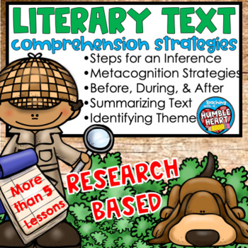 Essential Skills for Reading Literary Text Mega Bundle