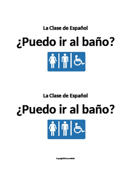 Essential Spanish Classroom Documents & Signs