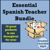 Essential Spanish Teacher Lessons Bundle