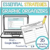 Essential Strategies and Graphic Organizers:  Speech, Language, ELA, & Math