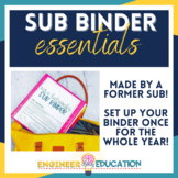 Essential Sub Binder: Edit Once for the Whole Year!