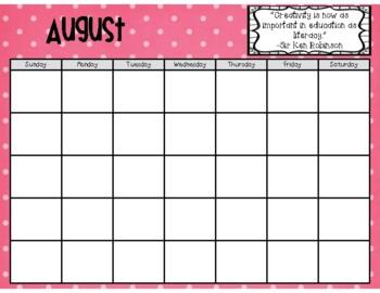 2016-2017 Calendar and Teacher Forms