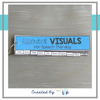 Essential Visuals for Speech Therapy STRIPS