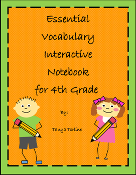 Essential Vocabulary Interactive Notebook