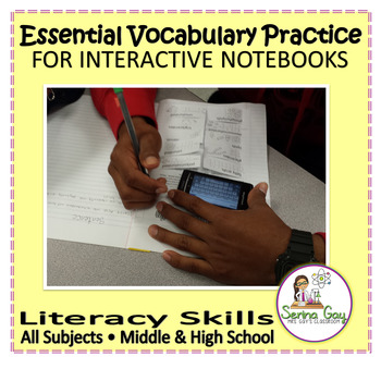 Essential Vocabulary Practice - All Subjects