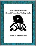 Essential Vocabulary Trading Cards Activity Bundle: Story Elements Edition
