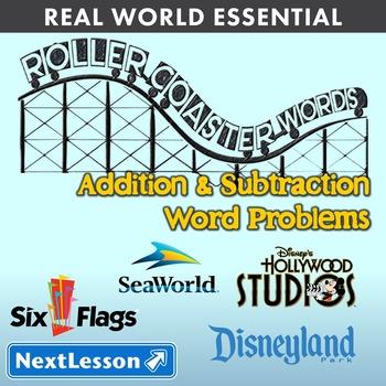 Essentials Bundle - Addition & Subtraction Word Problems – Roller Coaster Words