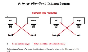 K Antonyms - 'Antonym Alley-Oops' Essentials Bundle