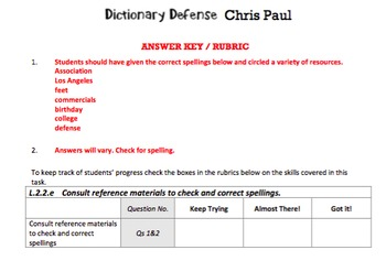 G2 Checking Spellings - 'Dictionary Defense' Essentials Bundle