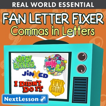 Essentials Bundle – Commas in Letters – Fan Letter Fixers - ELA