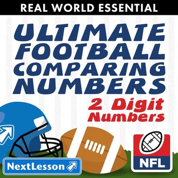 Essentials Bundle - Comparing 2-digit no. – Ultimate Football Comparing Numbers