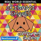 Essentials Bundle - Comparing Shapes - Origami Shapes