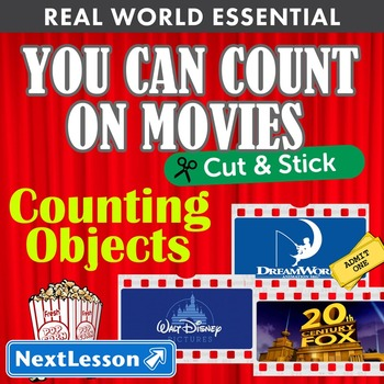 Essentials Bundle - Counting Objects – You Can Count On Movies! - Cut & Stick