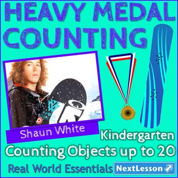Essentials Bundle - Counting Objects up to 20 - Heavy Medal Counting