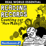 """Essentials Bundle - Counting for """"How Many?"""" - Reading Records"""