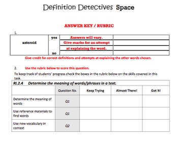 G2 Determining Meaning - 'Definition Detectives' Essentials Bundle