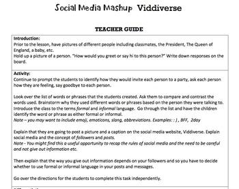 G2 Formal & Informal Language - 'Social Media Mashup' Essentials Bundle