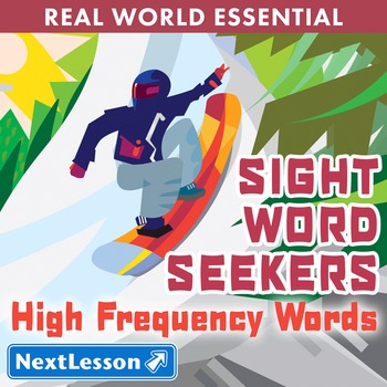 K High Frequency Words - 'Sight Word Seekers' Essentials Bundle