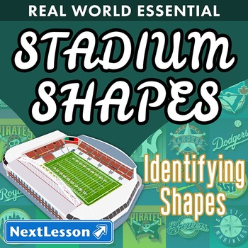 Essentials Bundle - Identifying Shapes - Stadium Shapes and Colors