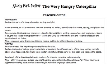 K Characters, Setting & Plot - 'Story Part Picker' Essentials Bundle