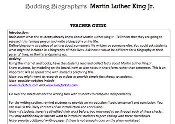 G2 Informative Writing - 'Budding Biographers' Essentials Bundle