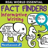 G1 Informative Writing - 'Fact Finders' Essentials Bundle