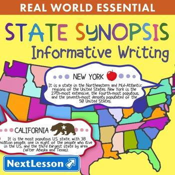 K Informative Writing - 'State Synopsis' Essentials Bundle